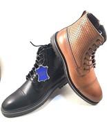 La Milano B51313 Argentinian Leather Lace Up Men's Ankle Boots Choose Sz... - $59.00