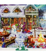Buffalo Games Winterland Fun Large Format 300 St. Puzzle Complete - $10.35