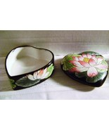 Toyo Black Lotus 2 pc. Porcelain Vanity Box - $18.00