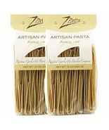 ZPasta Roasted Garlic Linguini - Bronze Cut Artisan Pasta 12 oz (2 Pack) - $17.99