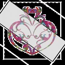 Flower Heart 2a-Digtial Clipart-Art Clip-Jewelry-T shirt-Notebook-Scrapbook - $3.99