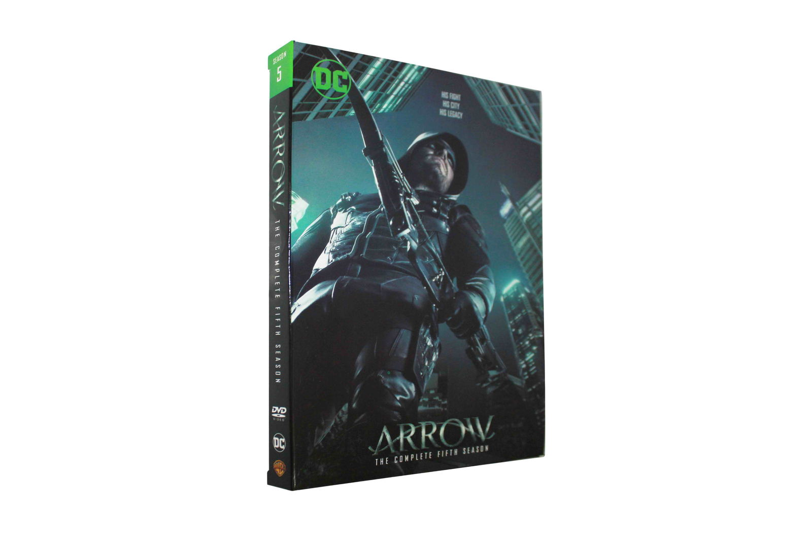 Arrow The Complete Fifth Season 5 DVD Box Set 5 Disc Free Shipping Brand New