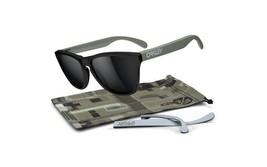 New Oakley FROGSKINS Infinite Hero GT75 Matte Black w/Balck Iridium 24-335 - $98.00