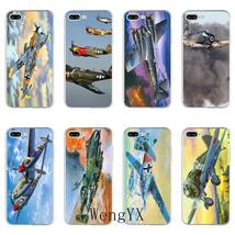 Fighter Propeller Plane Aircraft Slim TPU Soft phone case For Huawei Hon... - $12.89