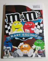 M And Ms MMs Kart Racing Nintendo Wii Game 2007 Yellow Red Orange Green - $12.37