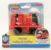 My First Thomas the Tank Pullback Puffer James Red Engine Train Vehicle Toy - $9.93