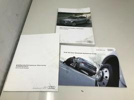 2013 Audi A4 Sedan Owners Manual Handbook Set OEM Z0018 - $38.39