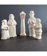Victorian Family Caroler Set Porcelain 5 pieces Crown Accents  World Baz... - $22.19