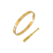 Cartier 18K Yellow Gold Love Bracelet - $5,841.00