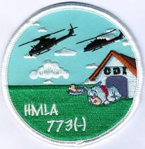 USMC HMLA-773 CDI Qual Patch- With Velcro NEW!!! - $11.87
