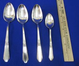 Hiawatha Plate Spoon 1937 Memory Pattern Fruit Silver Plate Flatware  Lo... - $14.84