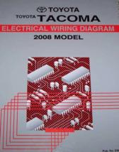 2008 Toyota TACOMA Électrique Diagramme Câblage Service Atelier Manuel E... - $98.99