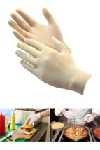 Latex Gloves Rubber Powder Free/Disposable Food Prep Cooking Size Large ... - $14.89