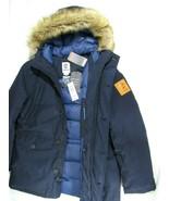 TIMBERLAND A1YF4-330 MEN'S NAVY WATERPROOF INSULATED PARKA Size XL. - $169.99