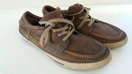 Skechers Men Boat Leather Shoes Size 13 - €13,70 EUR