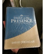 """DAILY in His PRESENCE BY DAVID JEREMIAH DAILY DEVOTIONAL  """"NEW SEALED"""" - $18.79"""