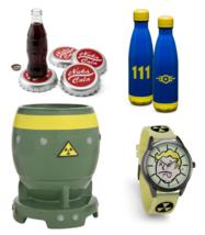 FALLOUT 3 4 76 New Vegas LOT OF 4 GIFT BUNDLE Radglow Watch Mug Coasters... - $82.23
