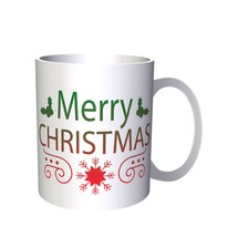 HAPPY MERRY CHRISTMAS XMAS FUNNY NOVELTY NEW  11oz Mug l23 - $10.83