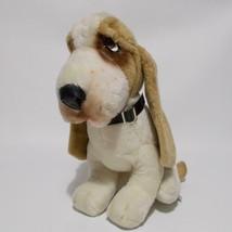 "Animal Fair Hound Dog Plush Plastic Collar 13"" Tall 1976 - $29.69"