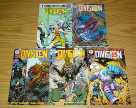 Division 13 #1-4 VF/NM complete series + comics greatest world - keith giffen - $5.95