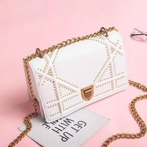 Lovely Women Handbag Clutch Messenger Bag Rivets Shoulder Crossbody Chai... - $34.99