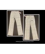 Lee Jeans Slender Secret Stretch Many Sizes Gray Cream Snake Straight Mi... - $12.99