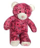 BABW Build A Bear Speakers Starz Pink Teddy Bear RETIRED Plush Stuffed A... - $39.99