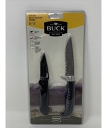 Buck Knives 875/876 Back Country Combo 2 Knife Set Unopened Package! - $60.76