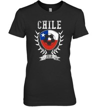 Chilean Football Cup 2018 T Shirt  Chile Soccer Jersey - $19.99+