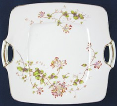 Antique Delinieres & Co. Limoges Handled Square Serving Cake Plate D & Co. - $31.99