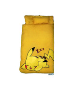 Pokemon Pikachu Smartphone Sleeping Bag / Futon * Gashapon Anime Toy Cap... - $11.88