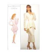80s Vintage Simplicity Sewing Pattern 8947 Misses Gunne Sax Blouse Slim ... - $14.95