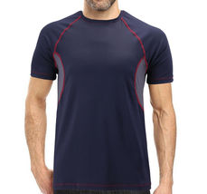 Men's Cool Quick-Dry Gym Workout Sport Running Breathable Performance T-shirt image 15