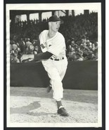 1948 Boston Red Sox MICKEY McDERMOTT Pitching Original Photo Rookie Type 1 - $19.55