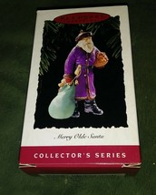 HALLMARK KEEPSAKE ORNAMENTS, MERRY OLDE SANTA, COLLECTOR'S SERIES, #6, 1995 - $5.94