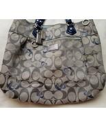 Coach Poppy Signature Hearts Glam Handbag Tote 18711 - $79.20