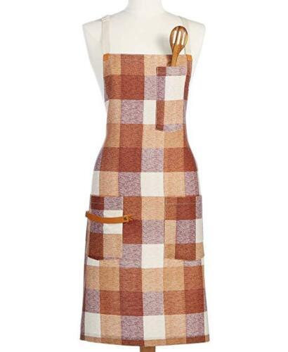 Martha Stewart Collection Cotton Butcher Block Apron