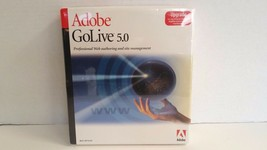 Adobe GoLive 5.0 (Retail) (1 User/s) - Upgrade for Mac New Old Stock FRE... - $26.72