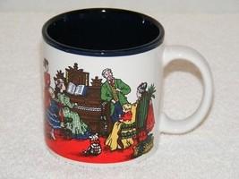 VINTAGE POTPOURRI PRESS HOLIDAY SEASON CERAMIC COFFEE MUG JAPAN EUC - $19.99