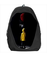 backpack school bag pennywise clown it creepy horror halloween - $39.79