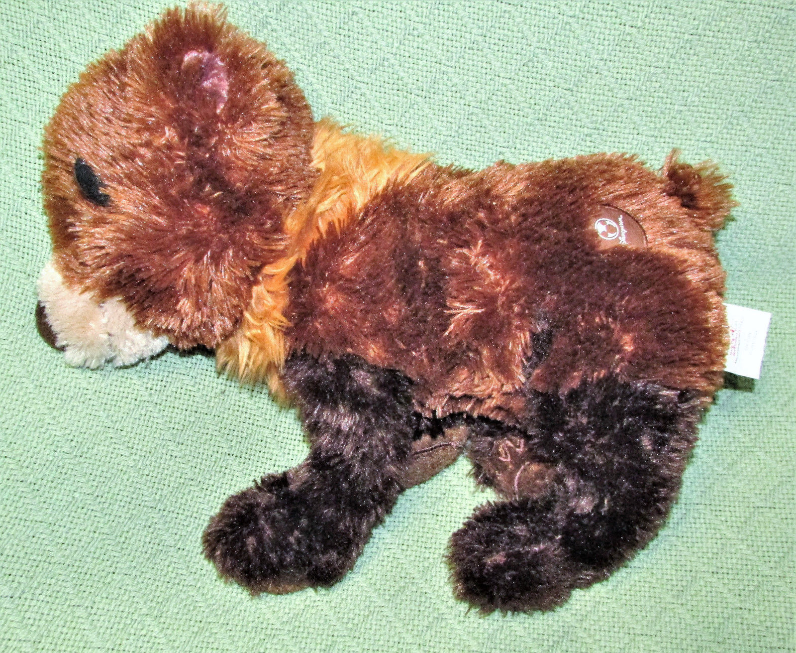 "Disney Brother Bear KODA Plush Brown Bear Floppy Bean Bag Stuffed Animal 12"" Toy"
