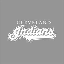Cleveland Indians #4 MLB Team Logo 1 Color Vinyl Decal Sticker Car Window Wall - $3.95+