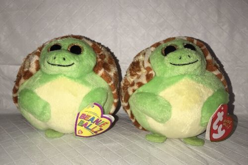 Lot of 2 TY Beanie Babies Ballz Zoom Turtle and 33 similar items 2d3421b0d895