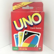 2009 Mattel 42003 Cards UNO 108 Card Game - Complete With Instructions - $11.83