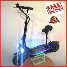 Electric Scooter 3600w/60v Two Wheel 11inch Folding Off Road Fast 45-55MPH - $2,307.50