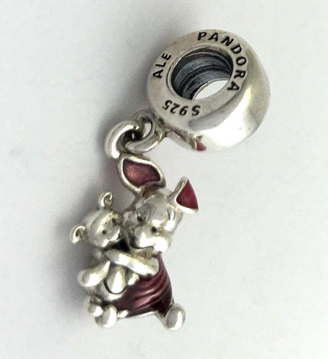 Originale Pandora Disney Maialino Ciondolo Pendente, 792134EN117, Nuova