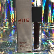Bite Beauty NEW IN BOX French Press Lip Gloss FullSize BLACK COFFEE