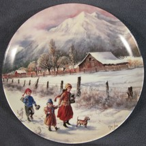 Hand In Hand Collector Plate Nature's Child Mimi Jobe Knowles China 84-K... - $29.95