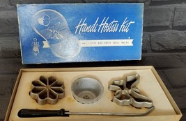 Vintage Handi Hostess Kit Waf-L-Ette & Patty Shell Molds Bonley Products... - $9.75