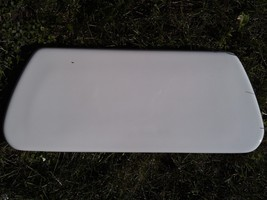 7SS74 Kohler Toilet Lid, White, Very Good Condition - $39.37